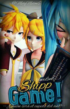 Shipp Game [RiLen; Vocaloid] by MelyMelon6