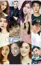 Love Love Love, Our Story (EXO couple) (Very Very Slow Update) by P_Qmerin07foys