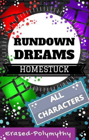 Rundown Dreams: Homestuck x reader by erased-polymythy