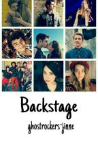 Backstage by ghostrockers-jinne