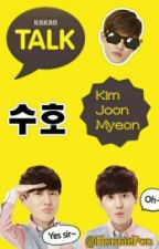 Kakaotalk // Suho by HonniePon