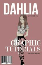 dahlia - TUTORIALS by flowerthieves