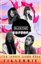 Black Pink In Uniform by CikSemmie