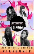 Black Pink In Uniform by CikSemmie