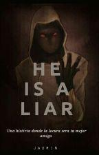 He is a liar (Hoodie)  by Jarok_25_Flor