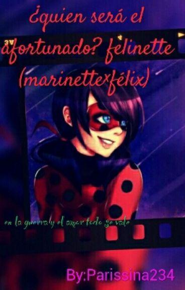 ¿quien será el afortunado? felinette (marinette×félix)