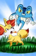 Fennekin and Froakie Lovestory by GalladeMaster_68