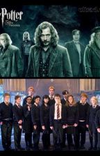 Hogwarts E a Ordem da Fênix lendo Harry Potter by LumaWeasley