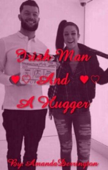 Irish man and a hugger. (Finn Balor and Bayley)