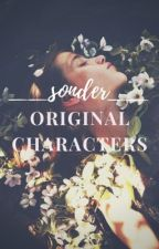 Very Original Characters|| by -eternalove