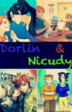 Imágenes DorLin y NicUdy versión anime by Jirafira13