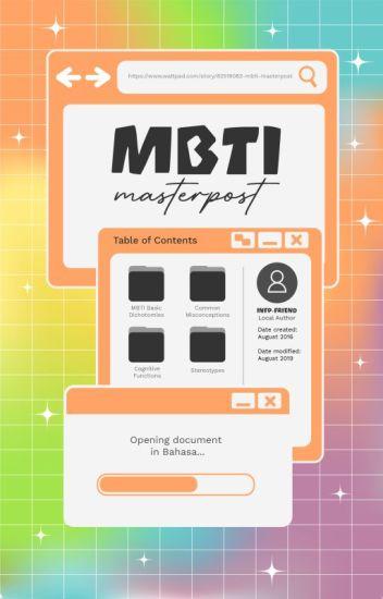 Jurnal MBTI