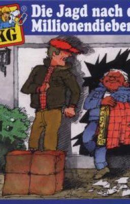 Đọc truyện Tứ quái TKKG -Tập 1:Thủ phạm tàng hình