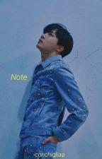 Note ✿ YoonMin by conchigliaa