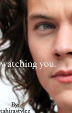 watching you.  by VELVETSTYLEZ