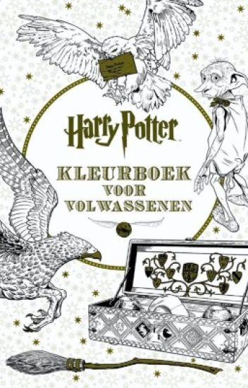 Harry Potter Kleurboek Voor Volwassenen Coloring Book For Adults Quiz