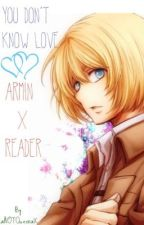 You Don't Know Love||Armin x Reader by theearthishexagon