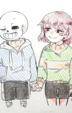 Undertale-A Friend For Life Sans x Chara by MellowMel123