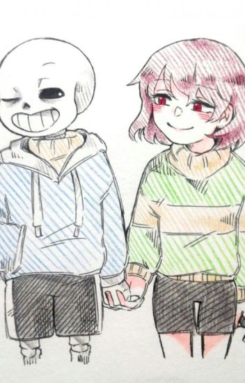 Undertale-A Friend For Life Sans x Chara