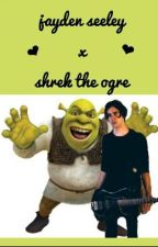 Jayden Seeley X Shrek The Ogre by gerardslemonn
