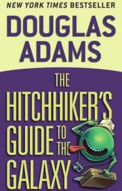 The Hitchhiker's Guide to the Galaxy ( #1) by Douglas Adams by slomafdfdxd