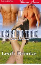 Série Desire/Oklahoma 1-Desejo Por Três by ThaynannSousa