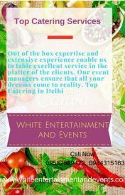 Top Catering Services by Whiteentertainment