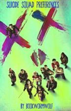Suicide Squad Preference Book by bookwormwolf