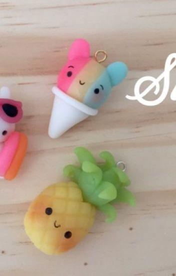 Art crafts: 50 Cute Clay charms ÉDITION! - Peach - Wattpad
