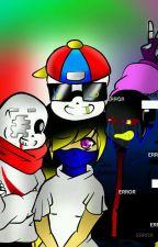 3 hermanos una chica~ •Fresh!sans,Error!sans,Geno!sans × Reader ♥cuadro amoroso♥ by pikachu_150
