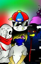 3 hermanos una chica~ •Fresh!sans,Error!sans,Geno!sans × Reader ♥cuadro amoroso♥ by Laftion_15