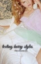 Texting Harry Styles   HS [COMPLETED] by -helobangsie