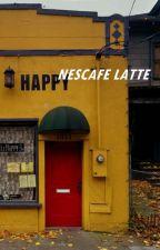 nescafé latte by lisathepenguin