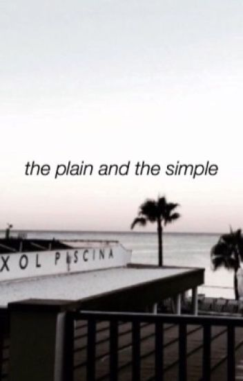 the plain and the simple | theburntchip