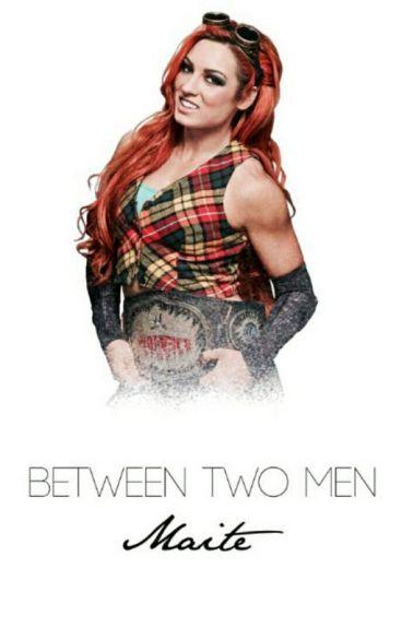 Between two men || Dean Ambrose, Becky Lynch, and Finn Balor.