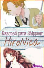 Razones para shippear HiroNica [AKF] by _Amxne_