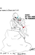 Sans x Chara|FanFiction by namjoons_collarbone
