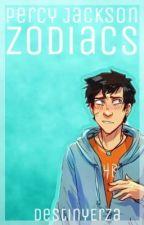 ✔️   Percy Jackson Zodiacs by DestinyErza