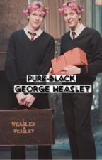 Pure-Black // George Weasley  by dreamerssociety