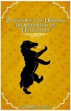 Plataforma de Defensa de Miembros de Hufflepuff by PDMHufflepuff