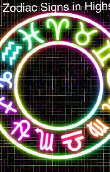 Zodiac Signs in High School