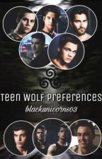 Teen Wolf Preferences by blackunicorns03