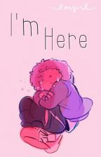 Estoy Aquí ||One-Shot|| Sans×Lectora by -_Fxngirl_-