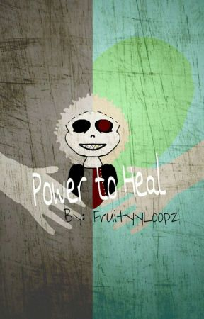 Power to Heal (Underfell!Sans X Reader) by Fruityyloopz