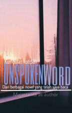 Unspoken Word by majastanta