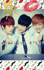Our love story (Jimin, Jungkook, V fanfic) by kawaiilovegaming66