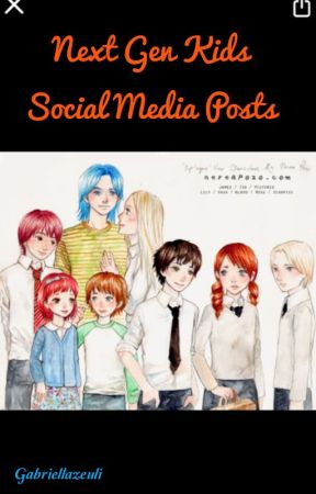 Next Gen kids Social Media Posts by GabriellaZeuli