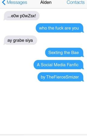 sexting the bae | aldub au by TheFierceSmizer