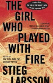 The Girl Who Played with Fire (Millennium Series #2) by croonaprica