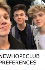 NEWHOPECLUB PREFERENCES by newhopefan